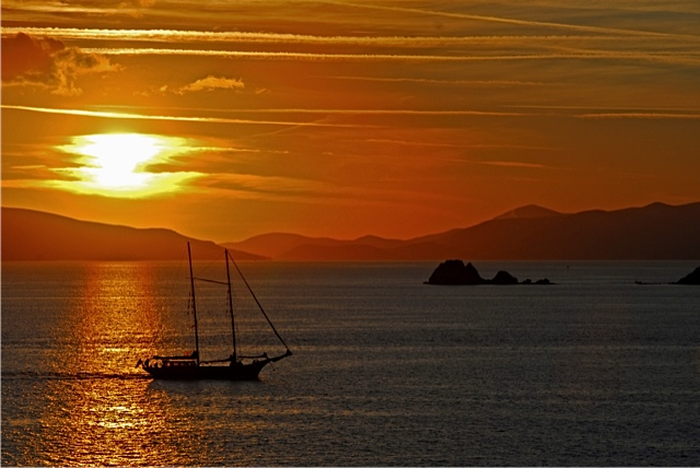 Turgutreis Sunset, Turkey