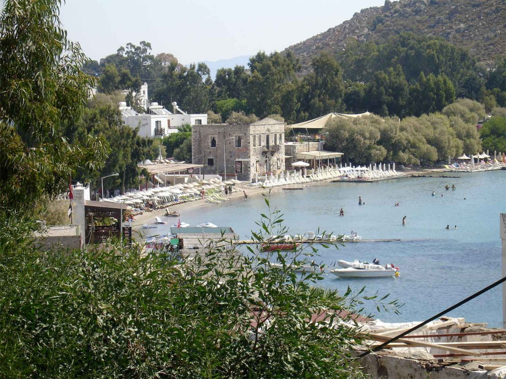 Akyarlar Beach, Turgutreis from the road, Turkey
