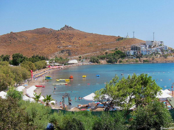 Akcabuk Beach Turgutreis Bodrum Peninsula Turkey