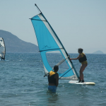 Learning to Windsurf in Turkey at Kadikalesi Turkey