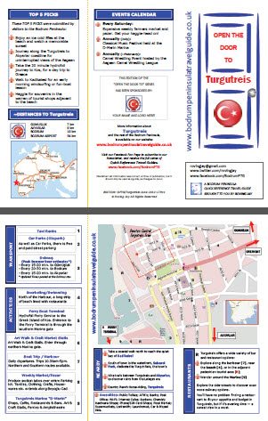 Turgutreis Quick Reference Travel Guide Turkey