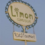 Limon Cafe Gumusluk Bodrum Turkey