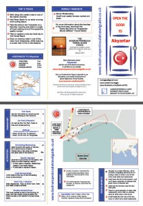 Akyarlar Quick Reference Travel Guide Bodrum Turkey
