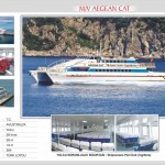 Aegean Cat Catamaran from yesil marmaris to Bodrum