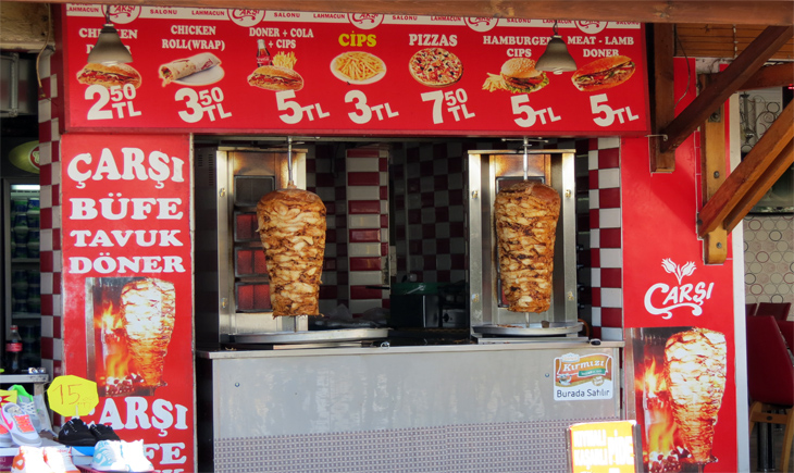Tuvak Doner Kebab Turgutreis Turkey