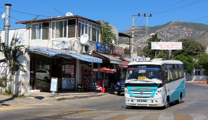 Dolmus Bus Public Transport Bodrum Turkey