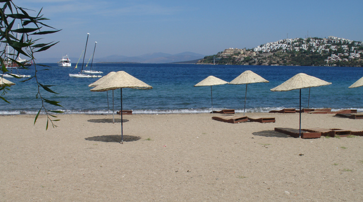 Gundogan Beach Bodrum Peninsula Turkey