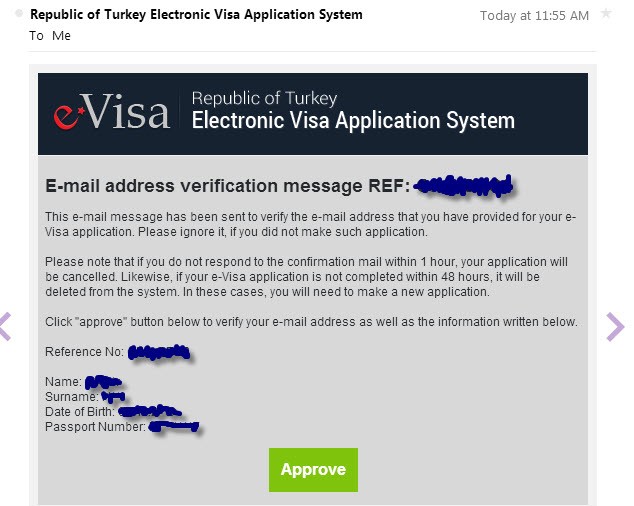 e-Visa-Confirmation-email Visitors Visa Application Form on i-94 application, immigration application, visitor registration, green card application, visitor visas to usa, sponsorship application,